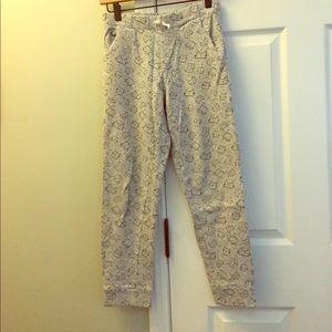 Cat & Jack girls sweatpants - L (10/12)